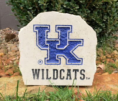Kentucky Wildcats Decorative Stone Wildcats7| Stoneworx | ken5