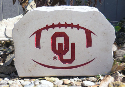 Oklahoma Sooners Decorative Stone Medium | Stoneworx | okl10
