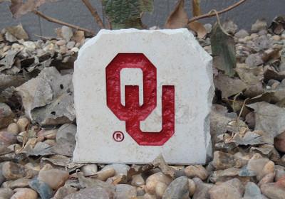 Oklahoma Sooners Decorative Stone 5.5| Stoneworx | okl13
