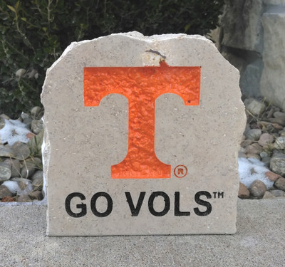 Tennessee Volunteers Decorative Stone Go Vols7| Stoneworx | tenn4