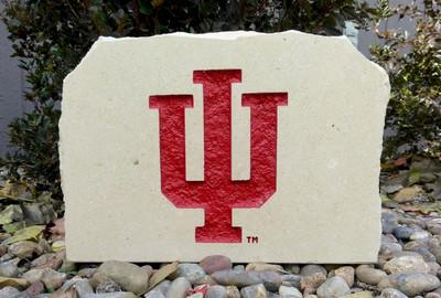 Indiana Hoosiers Decorative Stone Medium| Stoneworx | ind3