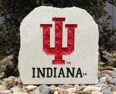 Indiana Hoosiers Decorative Stone 7| Stoneworx | ind4