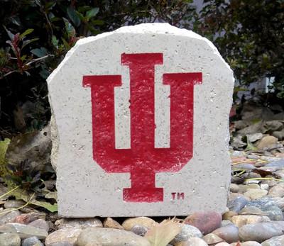 Indiana Hoosiers Decorative Stone 5.5| Stoneworx | ind6