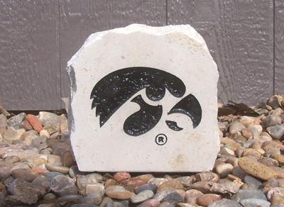 Iowa Hawkeyes Decorative Stone 5.5| Stoneworx | iowa10