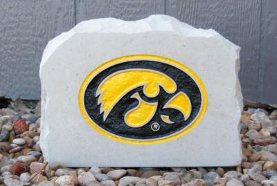 Iowa Hawkeyes Decorative Stone Medium| Stoneworx | iowa7