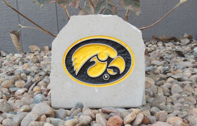 Iowa Hawkeyes Decorative Stone Logo 7| Stoneworx | iowa9