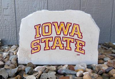 Iowa State Cyclones Decorative Stone Medium   Stoneworx   iowastate7