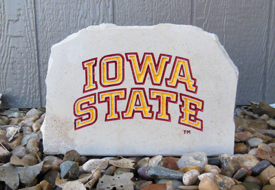 Iowa State Cyclones Decorative Stone Medium | Stoneworx | iowastate7