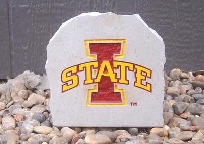 Iowa State Cyclones Decorative Stone 7  Stoneworx   iowastate9