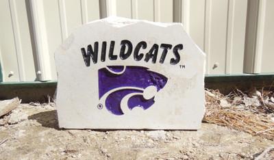 Kansas State Wildcats Decorative Stone Medium Wildcats