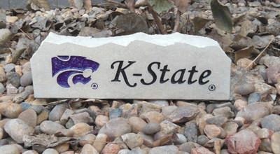 Kansas State Wildcats Decorative Stone Long