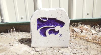 Kansas State Wildcats Decorative Stone 5.5  Stoneworx   ksu27
