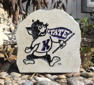 Kansas State Wildcats Decorative Stone Willie7  Stoneworx   ksu42