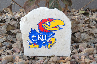 Kansas Jayhawks Decorative Stone 7| Stoneworx | ku34