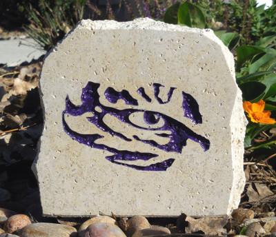 LSU Tigers Decorative Stone 5.5| Stoneworx | lsu10
