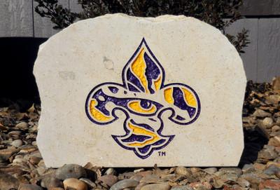 LSU Tigers Decorative Stone Medium| Stoneworx | lsu5