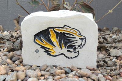 Missouri Tigers Decorative Stone Tiger Medium  Stoneworx   mizzou10