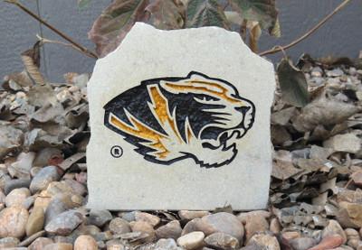 Missouri Tigers Decorative Stone Logo 7  Stoneworx   mizzou16