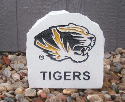 Missouri Tigers Decorative Stone Tiger 7  Stoneworx   mizzou17