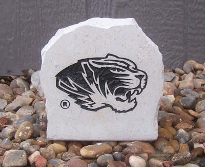 Missouri Tigers Decorative Stone Tiger 5.5  Stoneworx   mizzou18