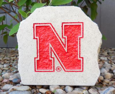 Nebraska Huskers Decorative Stone Logo 7| Stoneworx | neb26