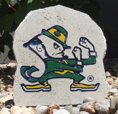 Notre Dame Fighting Irish Decorative Stone Logo 7| Stoneworx | ndame6
