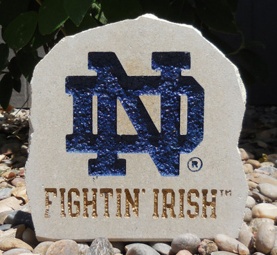 Notre Dame Fighting Irish Decorative Stone ND 7 | Stoneworx | ndame8