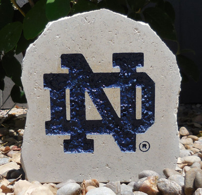 Notre Dame Fighting Irish Decorative Stone ND Logo 7 | Stoneworx | ndame9