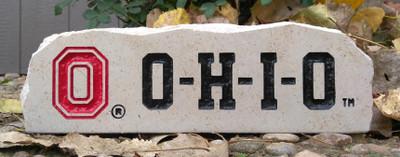 Ohio State Buckeyes Decorative Stone Long| Stoneworx | buckeyes6