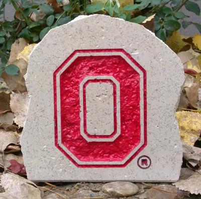 Ohio State Buckeyes Decorative Stone 5.5| Stoneworx | buckeyes9