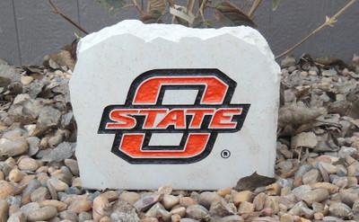 Oklahoma State Cowboys Decorative Stone Medium  Stoneworx   okstate10