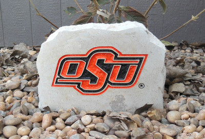 Oklahoma State Cowboys Decorative Stone Medium OSU| Stoneworx | okstate9