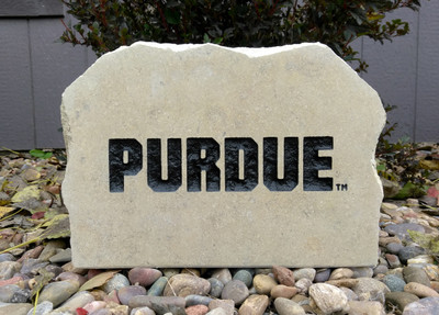 Purdue Boilermakers Decorative Stone Medium| Stoneworx | purdue3
