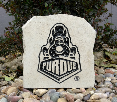 Purdue Boilermakers Decorative Stone Black 7| Stoneworx | purdue5