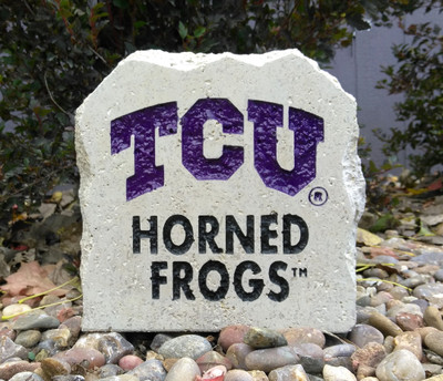 TCU Horned Frogs Decorative Stone 7| Stoneworx | TCU15