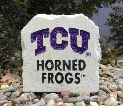TCU Horned Frogs Decorative Stone 7| Stoneworx | TCU15