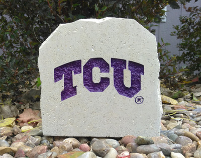 TCU Horned Frogs Decorative Stone TCU 7 | Stoneworx | TCU16