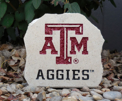 Texas A&M Aggies Decorative Stone 7| Stoneworx | texasam8