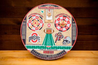 OHIO STATE BUCKEYES OFFICIAL FOOTBALL DARTS DARTBOARD | FOOTBALL DARTS | FDOSU01