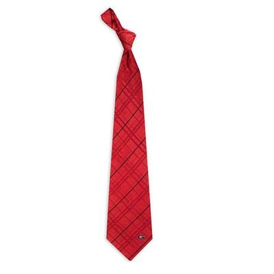 Georgia Bulldogs Oxford Woven Silk Tie | Eagles Wings | 4808