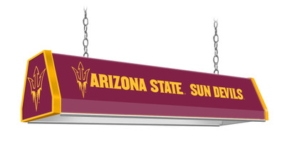 "Arizona State Sun Devils 38"" Standard Pool Table Light-Maroon |Grimm Industries | AS-310-01"