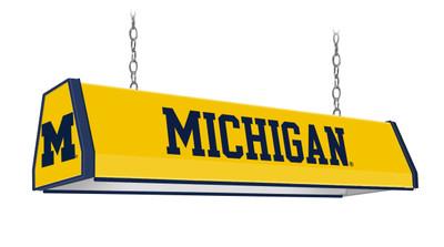 "Michigan Wolverines 38"" Standard Pool Table Light | Grimm Industries |UM-310-01"