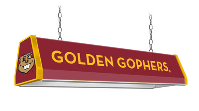 "Minnesota Golden Gophers 38"" Standard Pool Table Light Maroon 