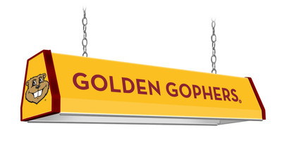 "Minnesota Golden Gophers 38"" Standard Pool Table Light Gold 