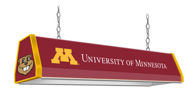 "Minnesota Golden Gophers 38"" Standard Pool Table Light -U of M Maroon 