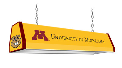 "Minnesota Golden Gophers 38"" Standard Pool Table Light -U of M Gold 