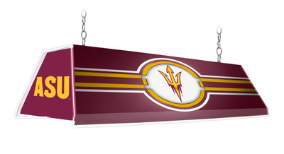 "Arizona State Sun Devils 46"" Edge Glow Pool Table Light Maroon 