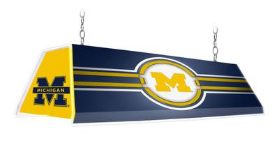 "Michigan Wolverines 46"" Edge Glow Pool Table Light | Grimm Industries |UM-320-01"