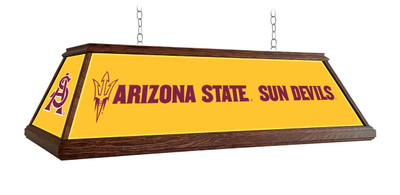 "Arizona State Sun Devils 49"" Premium Deluxe Wood Pool Table Light 