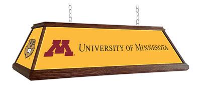 "Minnesota Golden Gophers 49"" Premium Deluxe Wood Pool Table Light | Grimm Industries |MN-330-02"